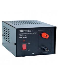 Alimentatore stabilizzato 2,5A/13,8V da laboratorio con tensione fissa Mod. AE-025F VICTORY