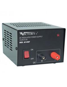 Alimentatore stabilizzato 5A/13,8V da laboratorio con tensione fissa Mod. AE-050F VICTORY