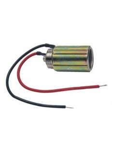 Presa da pannello 10A/250V per spina alimentazione accendisigari in metallo