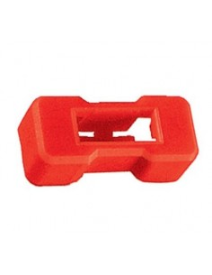 Coperchio di protezione rosso per portafusibile 5 X 20