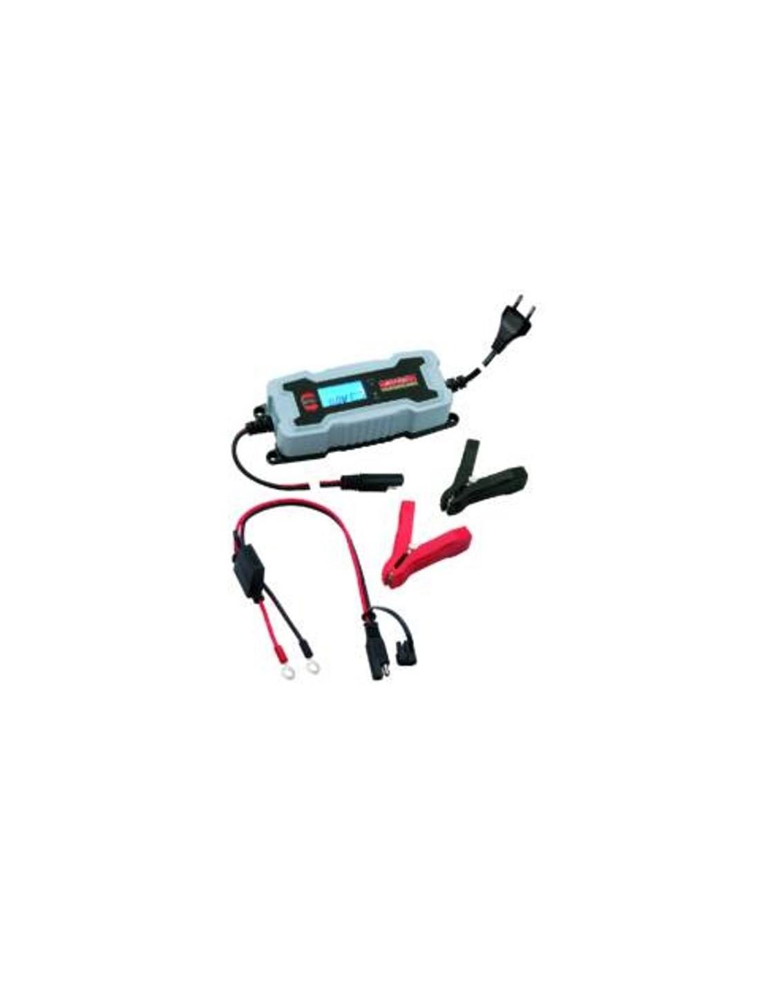 Caricabatterie automatico smart 6v 12v per auto moto for Caricabatterie auto moto lidl