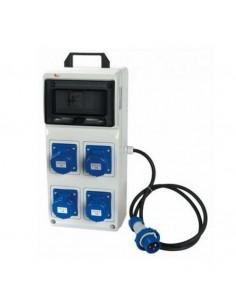 Quadro ASC 16A 220V 3KW 4 prese 3P industriali IP55 ROSI 2240