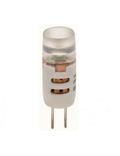 Lampada a led 1,5W bianco caldo G4 diametro 10 mm