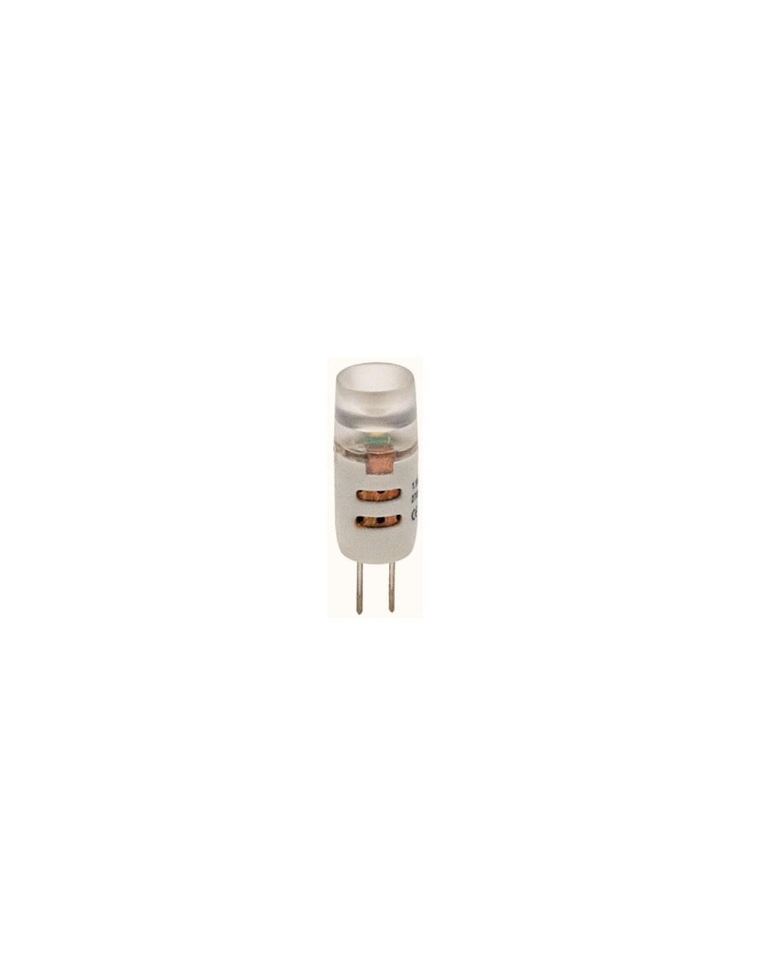 Lampada a led 1,5W bianco caldo G4 diametro 10 mm -> Lampade A Led Obi