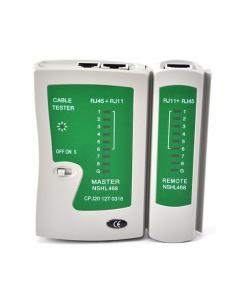 Tester cavo rete LAN telefonico RJ45/RJ11/RJ12 network ethernet
