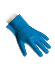 Guanti in polietilene CPE monouso mis. M blu REFLEXX20 conf. 200 pz