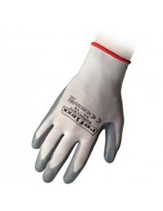 Guanti taglia S (7) in nitrile bianco/grigi REFLEXX N12