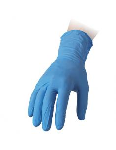 Guanti in nitrile monouso taglia M azzurro REFLEXX70 confezione 100 pz