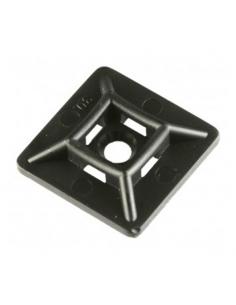 100 Basette 12 X 12 X 2,5 nere per fascette