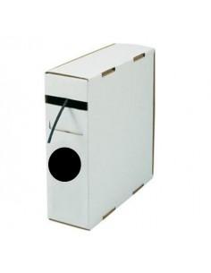 Box guaina diam. 19,0 termorestringente in poliolefina rest. 2:1 nera confezione 5 mt