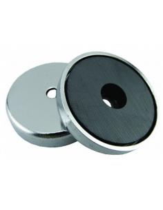 Magnete in ferrite diametro 36 mm capacità 7,2 Kg