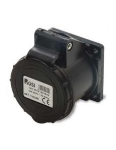 Presa da incasso 16A 2P+T 6H 230V dritta nera IP44 ROSI 1302SN