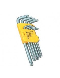 Set chiavi maschio esagonali impronta Torx 9 pezzi ELEMATIC