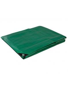 Telone impermeabile metri 3X4 occhiellato verde
