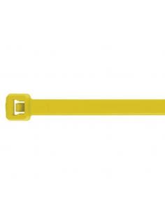 Fascette 200 X 3,6 in nylon gialle conf. 100 pz