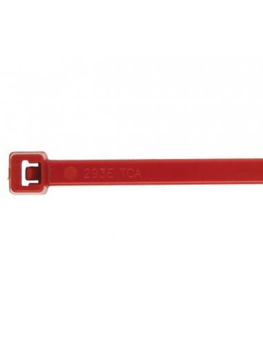 Fascette 200 X 3,6 in nylon rosse conf. 100 pz