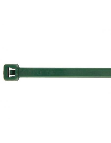Fascette 200 X 3,6 in nylon verdi conf. 100 pz