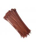 Fascette 200 X 3,6 in nylon marrone conf. 100 pz