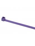 Fascette 200 X 3,6 in nylon viola conf. 100 pz