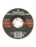 Mola a disco 115X6X22,23 per pietra a sollecitazione severa centro depresso C24RBF