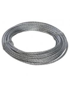 Fune metallica diametro 6 mm zincata 10 metri