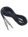5 Metri cavo di collegamento con 2 JACK 6,3 mm stereo HOLLYWOOD