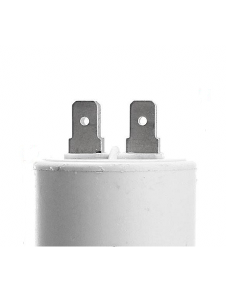 Condensatore 2,5 uF in polipropilene metallizzato 450 Vac corrente alternata