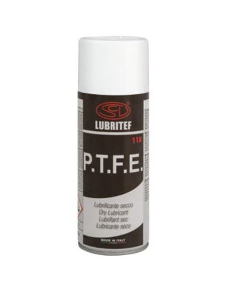 LUBRITEF lubrificante secco spray in P.T.F.E. 400 ml