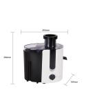 Centrifuga e estrattore di succo 400W bianco 500 ml GRAPE 300101JDA