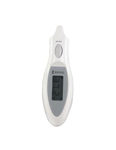 Termometro auricolare ad infrarossi bianco EARTHERM60N KONIG