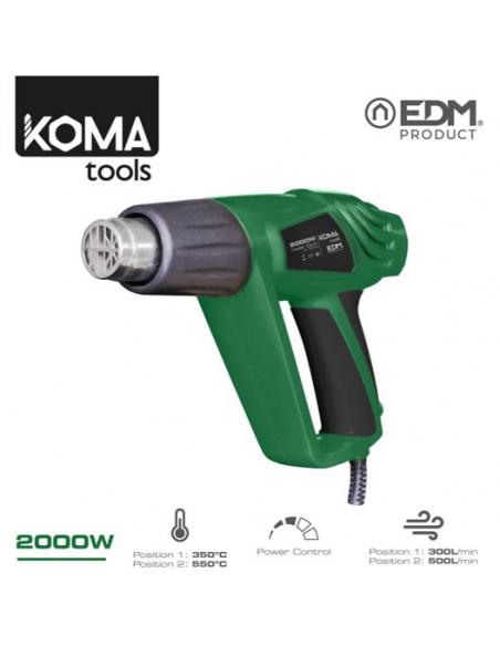 Termosoffiatore 2000W Koma Tools EDM