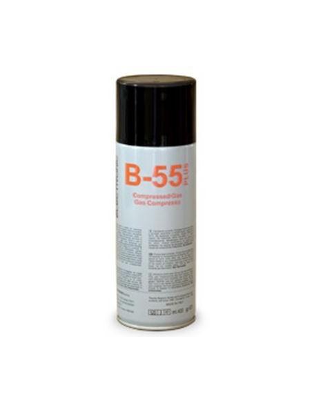 Aria compressa 400 ml B-55 PLUS non infiammabile