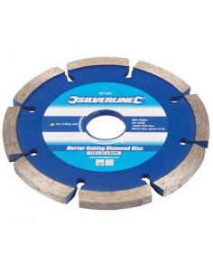 Lama a disco diamantata 115X22,23 mm per malta con bordo segmentato