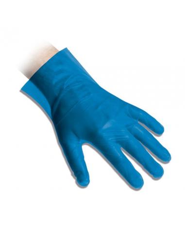 Guanti in polietilene CPE monouso mis. L blu REFLEXX20 conf. 200 pz