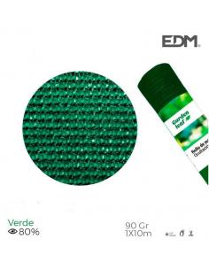 Rete ombreggiante frangivista 1x10 metri verde 90gr/mq
