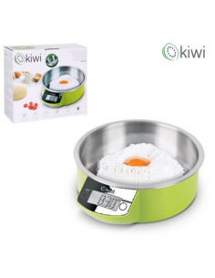 Bilancia da cucina digitale 2gr-5Kg in acciaio inossidabile KIWI KKS1157