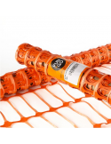 Rete segnaletica arancione da cantiere 1x50 metri