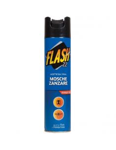 Insetticida spray FLASH 22 contro mosche e zanzare 250 ml