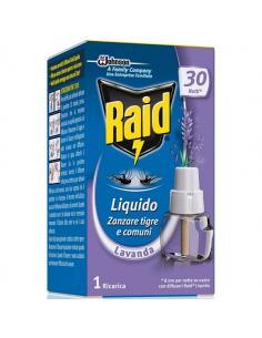 Ricarica liquida alla lavanda per diffusore raid liquido elettrico antizanzare 21 ml