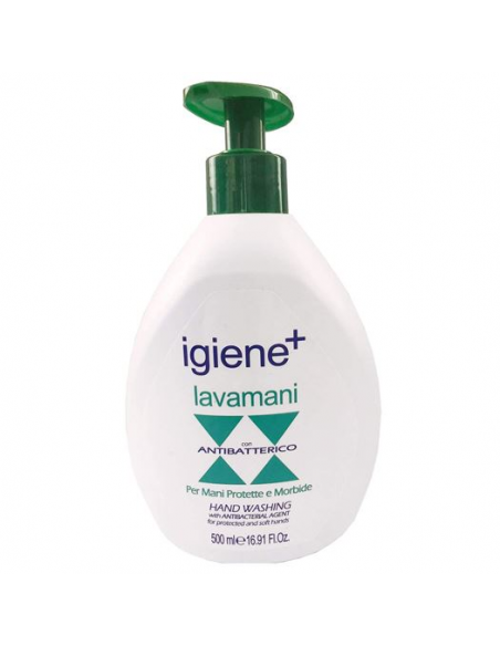 Sapone liquido lavamani antibatterico IGIENE+ 500 ml