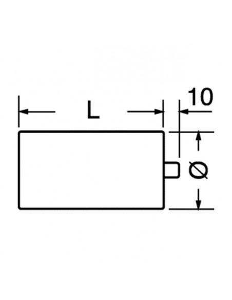 Condensatore 20 uF in polipropilene metallizzato 450 Vac corrente alternata