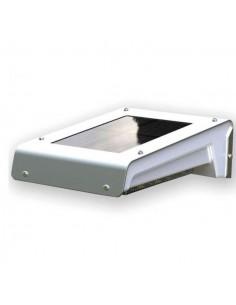 Lampada led solare a muro da esterno con sensore dimovimento ILAMP120E