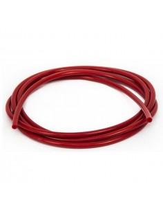 Tubetto diam. 3,5x5 in silicone rosso