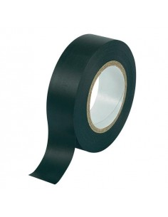 Nastro isolante 15x10 mt PVC autoadesivo nero