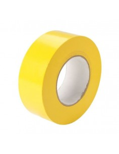 Nastro isolante 15x10 mt PVC autoadesivo giallo
