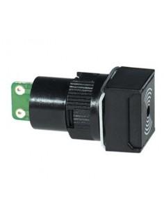Buzzer elettronico 12V da pannello quadrato 18 mm
