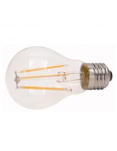 Lampada a filamento led 7W bianco caldo E27 diametro 60 mm