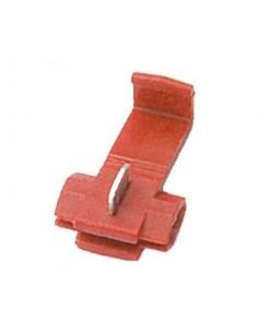 Morsetto rapido per derivazioni 0,25 - 1,5 mm2 rosso