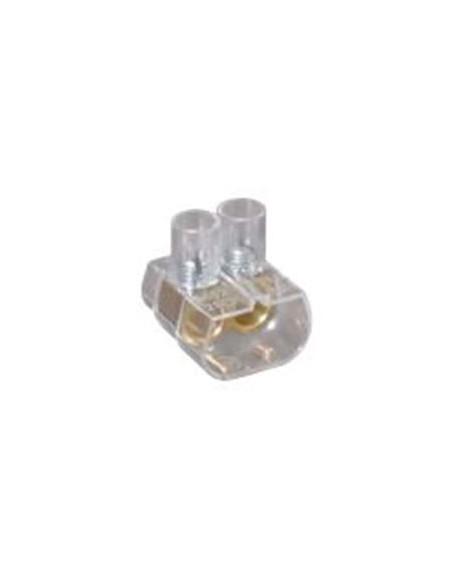 Morsetto unipolare 25 mmq volante 2 fori E-BLOKS EBS2/250
