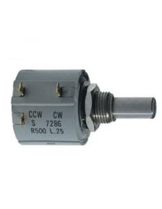 Potenziometro di precisione 10 KOhm a filo 10 giri mod. 7286